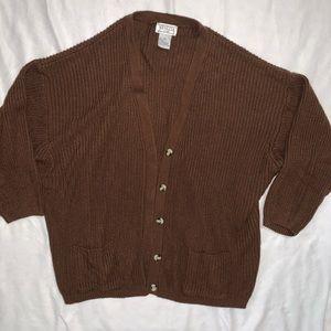Vintage | Oversized Chunky Knit Sweater